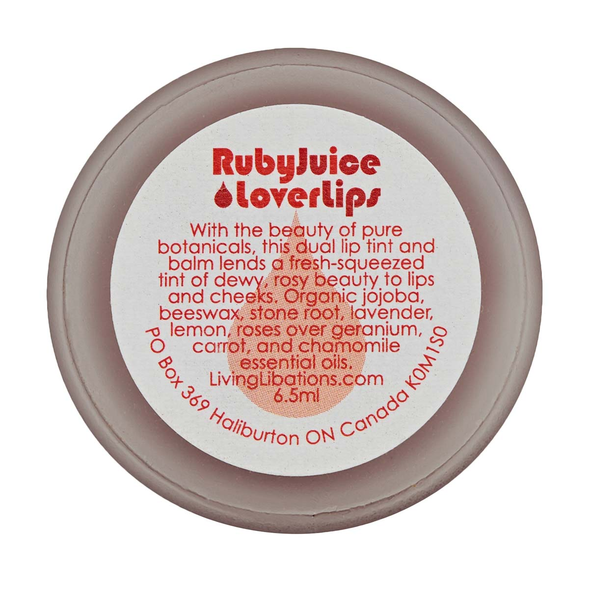 Living Libations - Ruby Juice Lover Lips