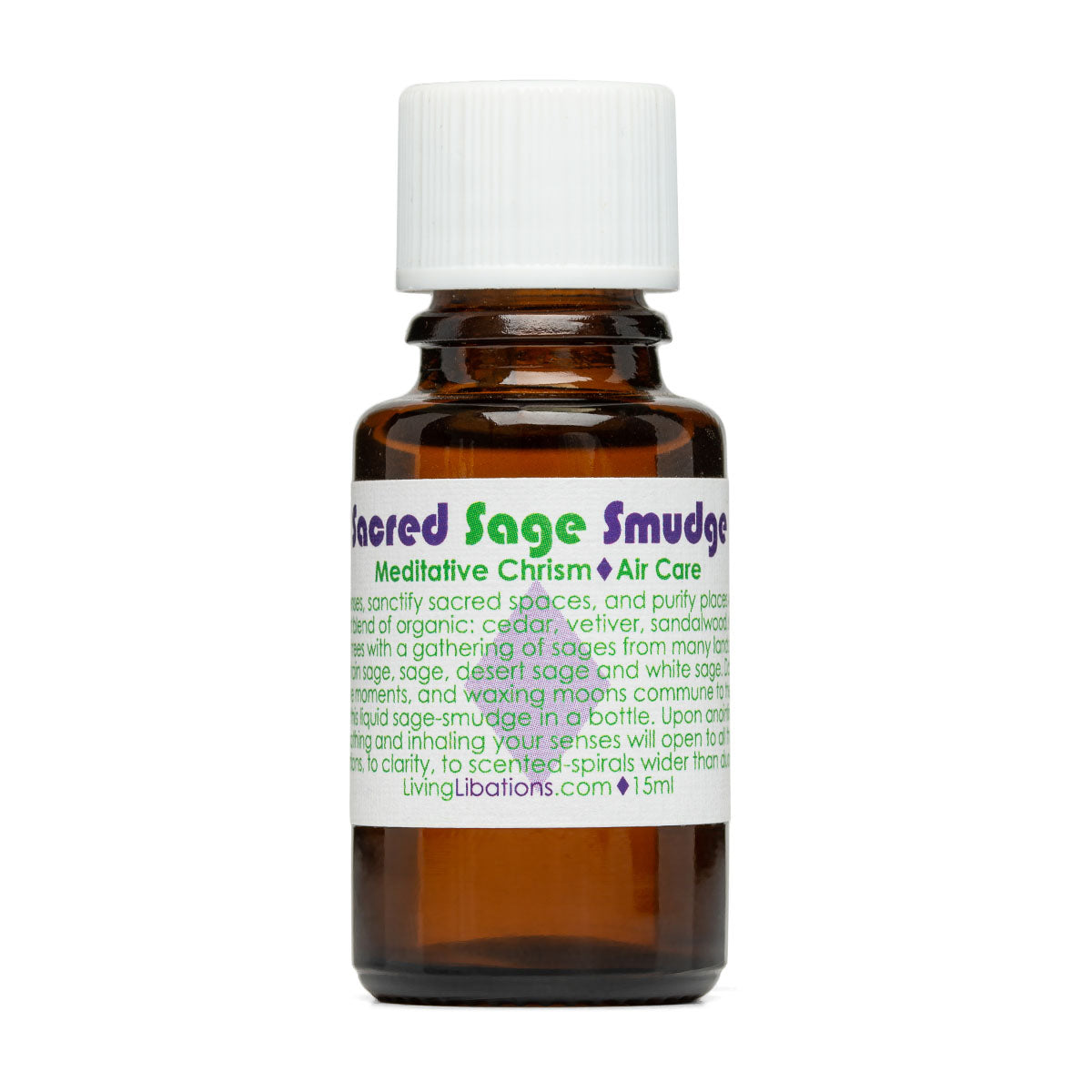 Living Libations - Sacred Sage Smudge Chrism (5ml / 15ml)