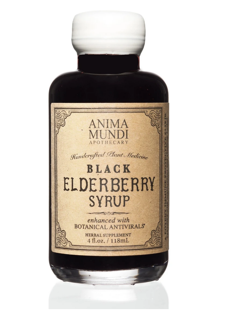 Elderberry Syrup / Anima Mundi | Raw Living UK | Herbs
