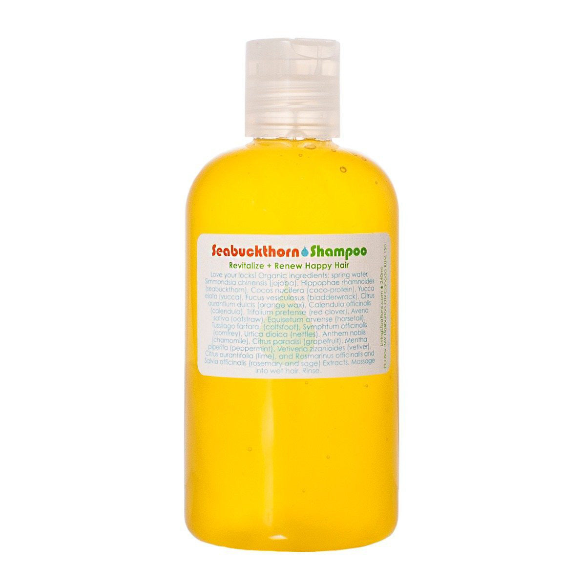 Living Libations - Seabuckthorn Shampoo (240ml)