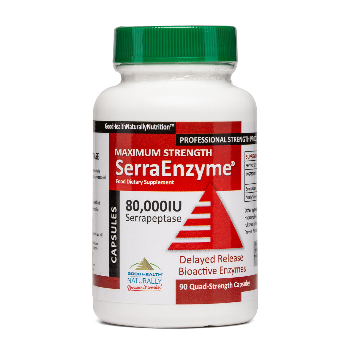 Serra Enzyme 80,000iu - 90 Delayed Release CAPS