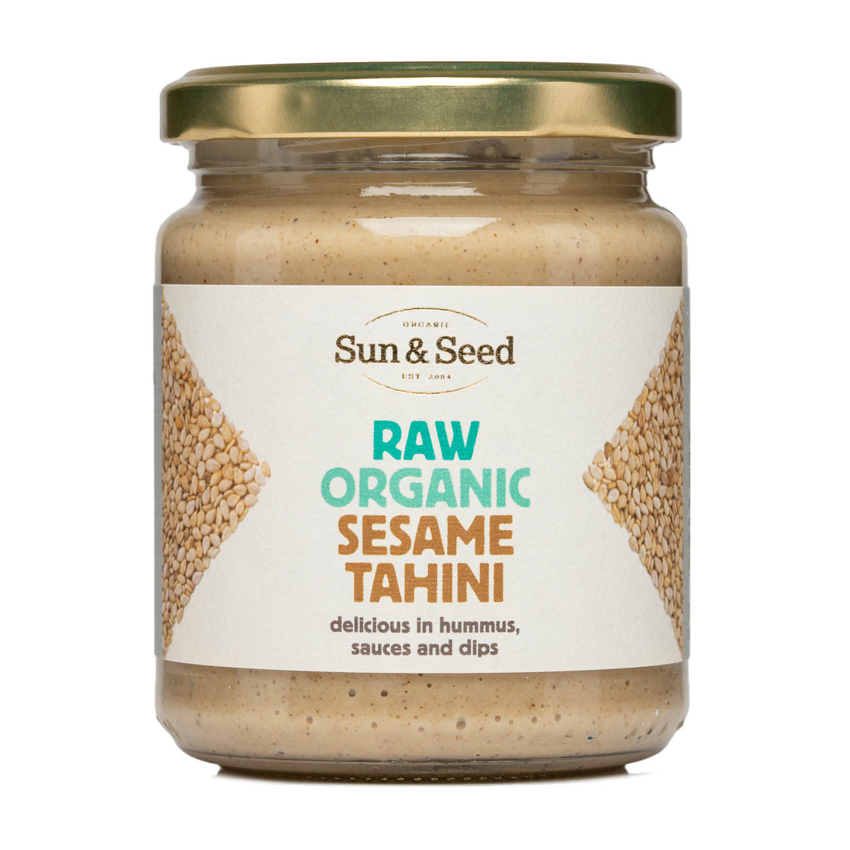 Tahini - Raw and Organic (250g, 5kg)