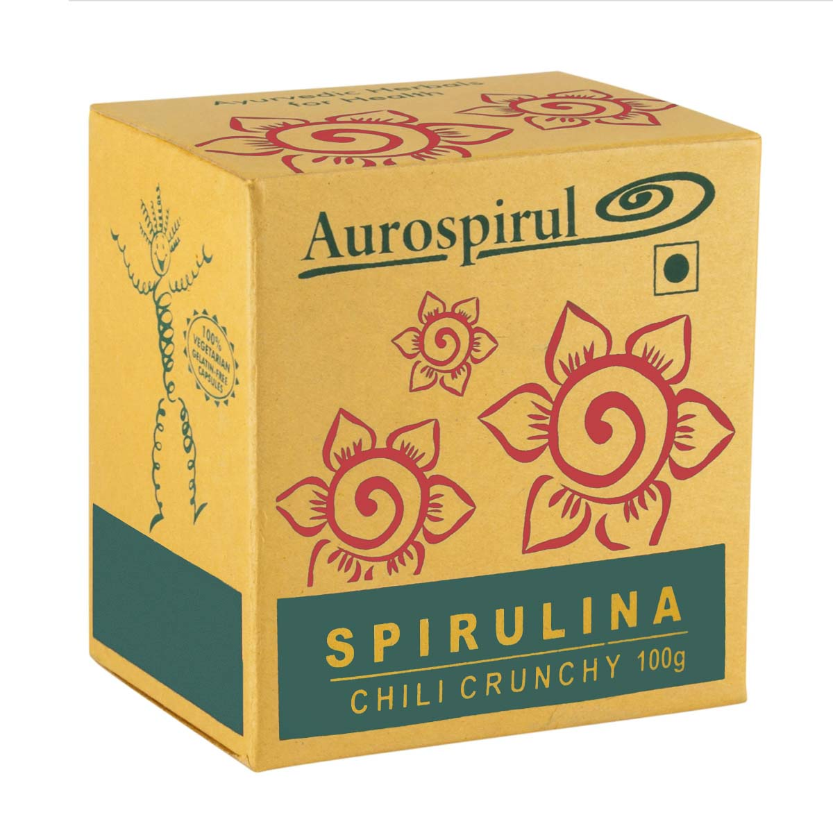 Spirulina Chilli | Auroville | Raw Living UK | Raw Foods