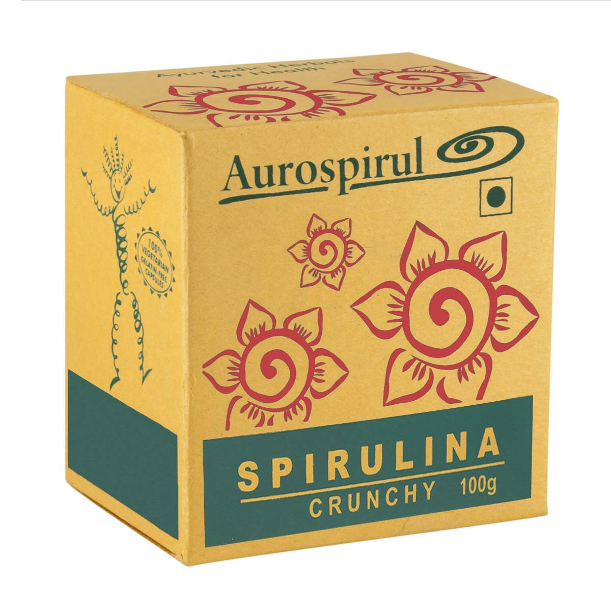 Spirulina Crunchies | Auroville | Raw Living UK | Raw Foods