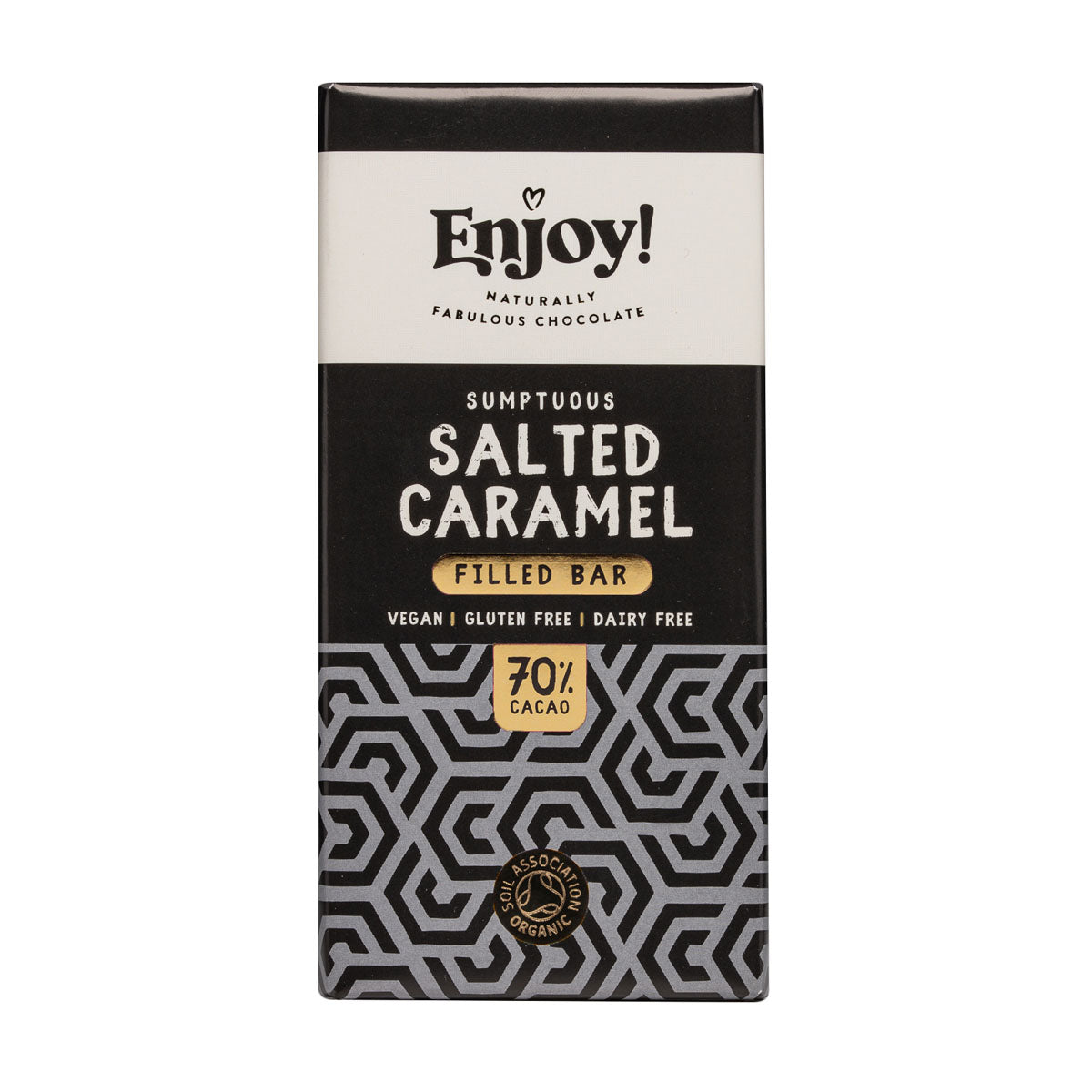 Enjoy Raw Chocolate - Salted Caramel (70g)