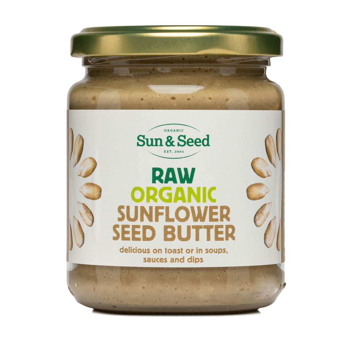 Sunflower Seed Butter - Raw and Organic (250g)