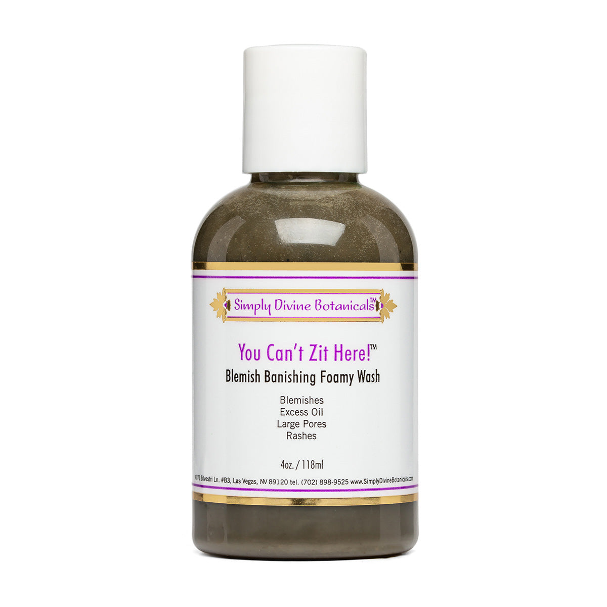 You Can't Zit Here (4 oz) - Simply Divine Botanicals