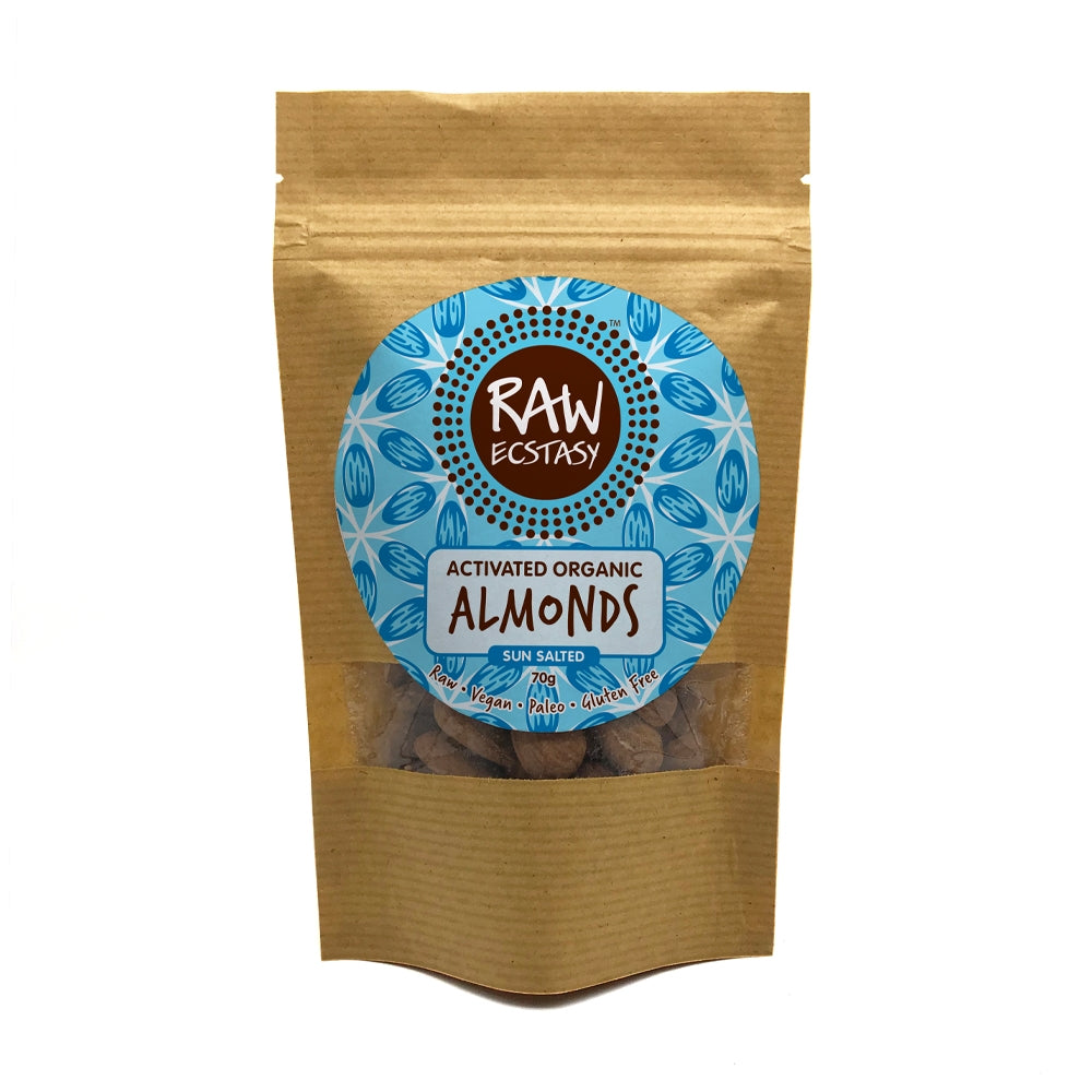 Activated Almonds Sun Salted (70g)