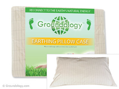 Organic Earthing Pillow Case - Groundology