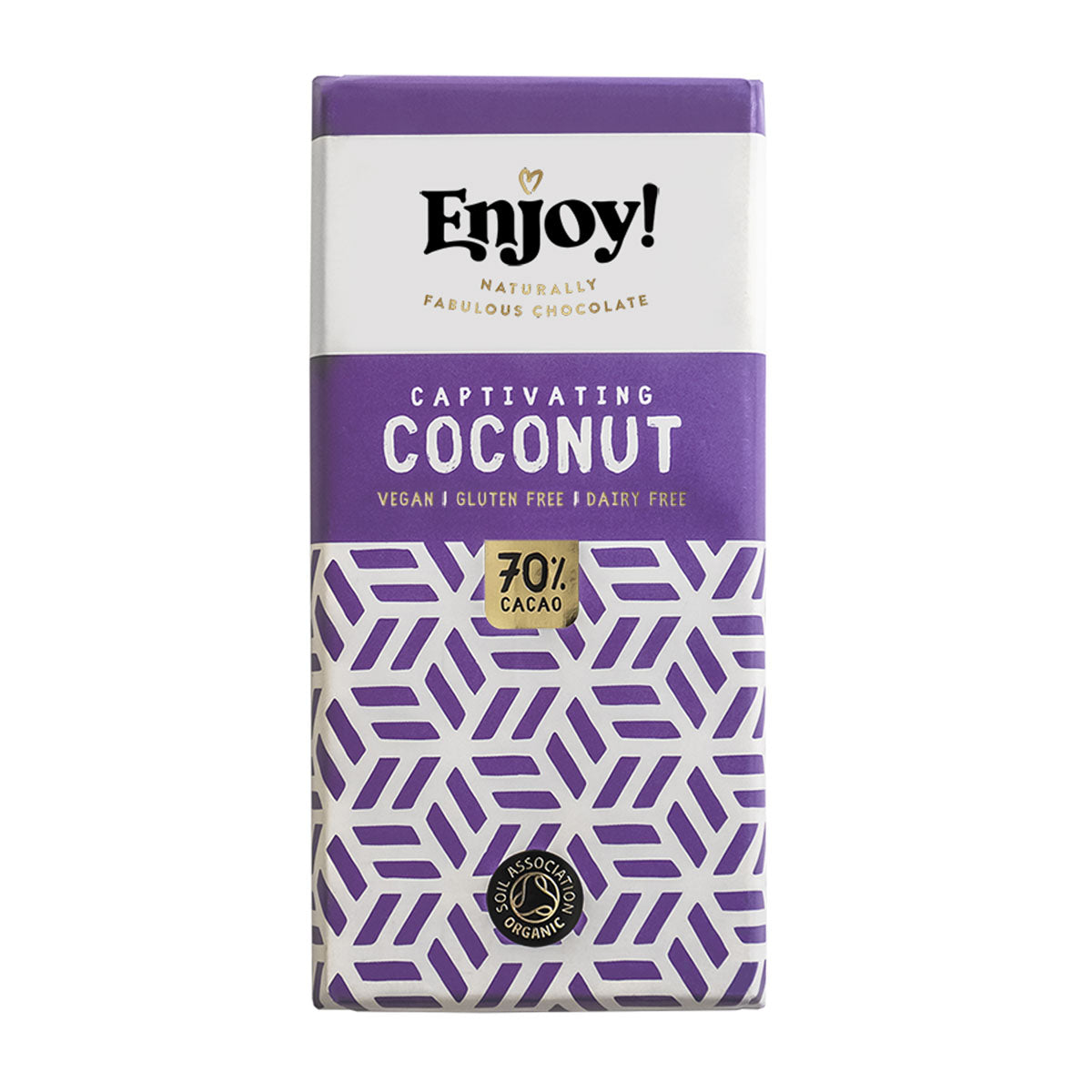 Enjoy Raw Chocolate - Coconut Milk (70g)