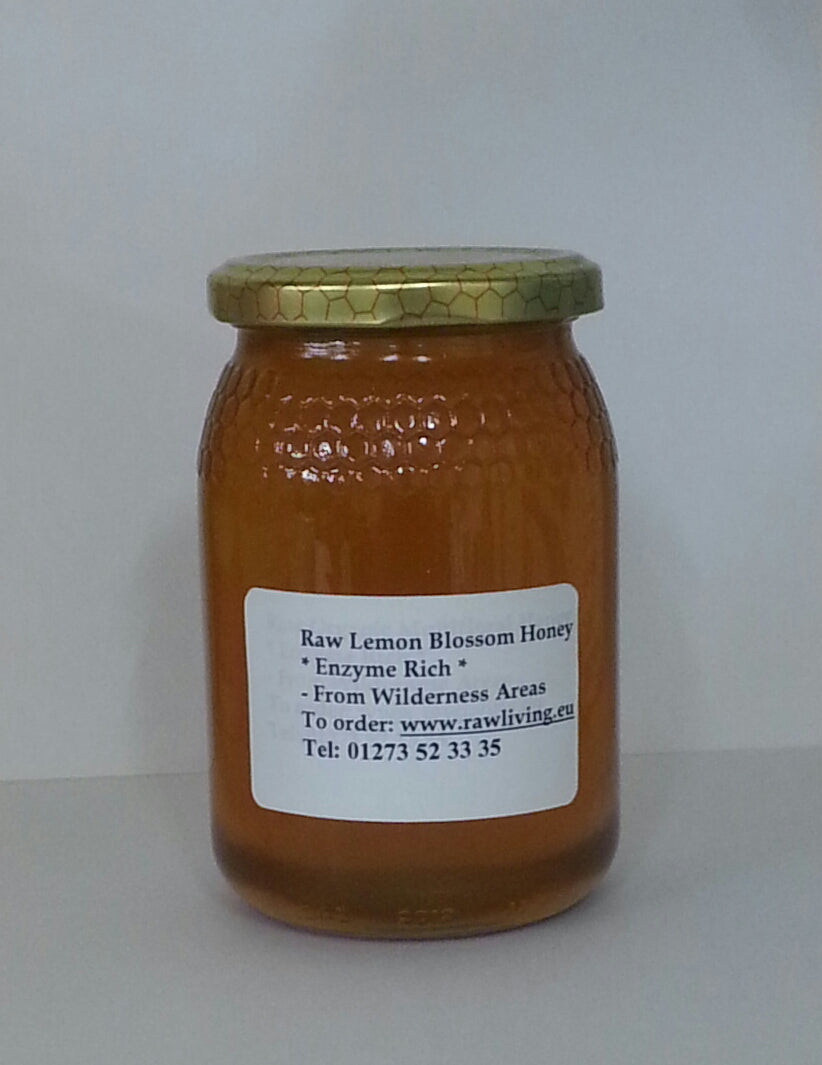 Raw Honey - Lemon Blossom 500g (Wildcrafted - Part Set)