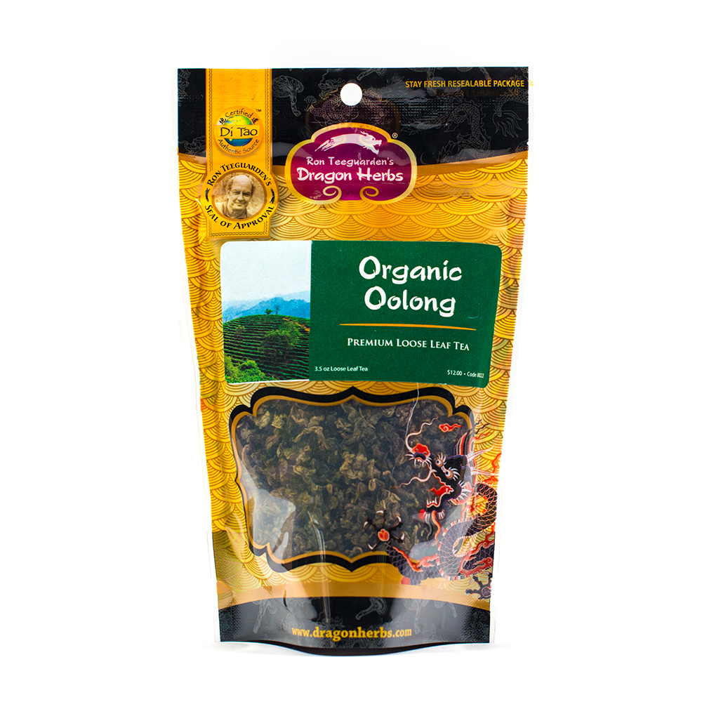 Oolong Tea 2.0 - Organic (3.5oz) - Dragon Herbs
