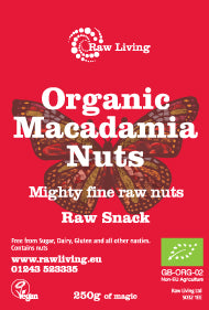 Macadamia Nuts whole (250g, 1kg) - Raw and Organic