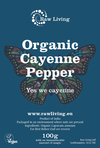 Organic Cayenne Pepper | Raw Living UK | Raw Foods