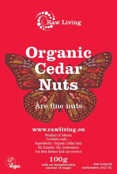 Cedar / Pine nuts (Russian) - Raw and Organic (100g, 1kg)