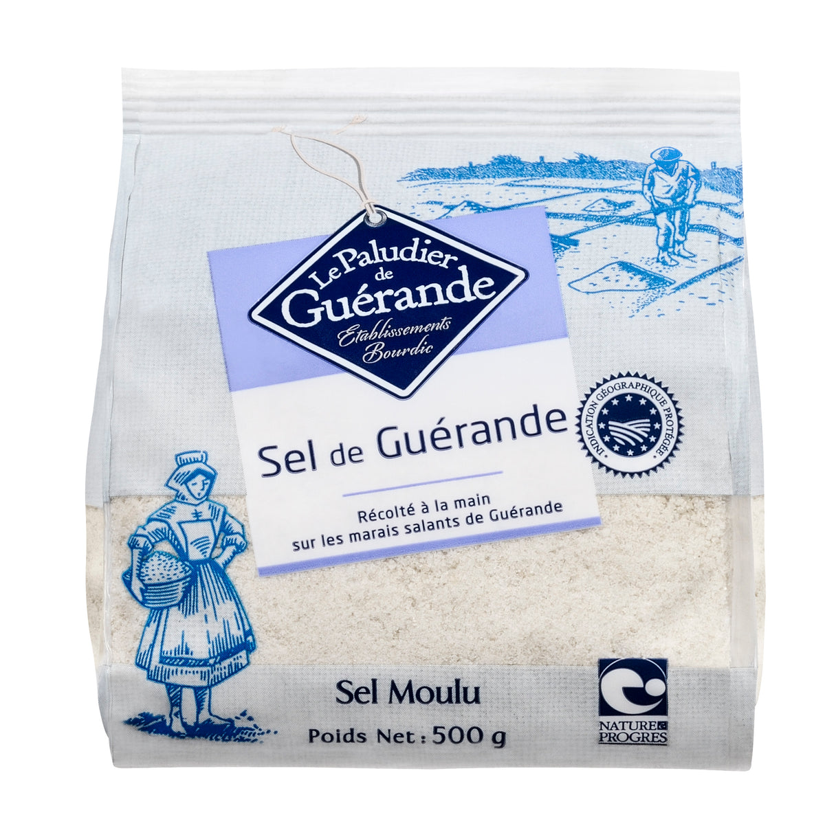 Celtic Sea Salt FINE - Organic (500g)