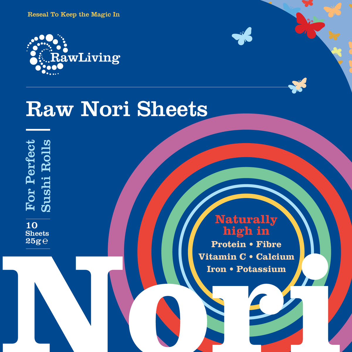 Nori Sheets - Real Raw (x 10)