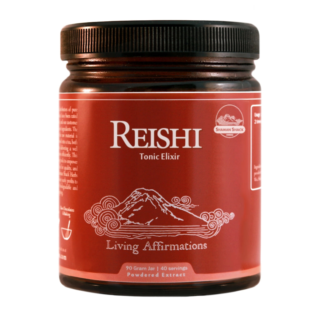 Wild crafted Red Reishi 10:1 extract (90g) - Shaman Shack