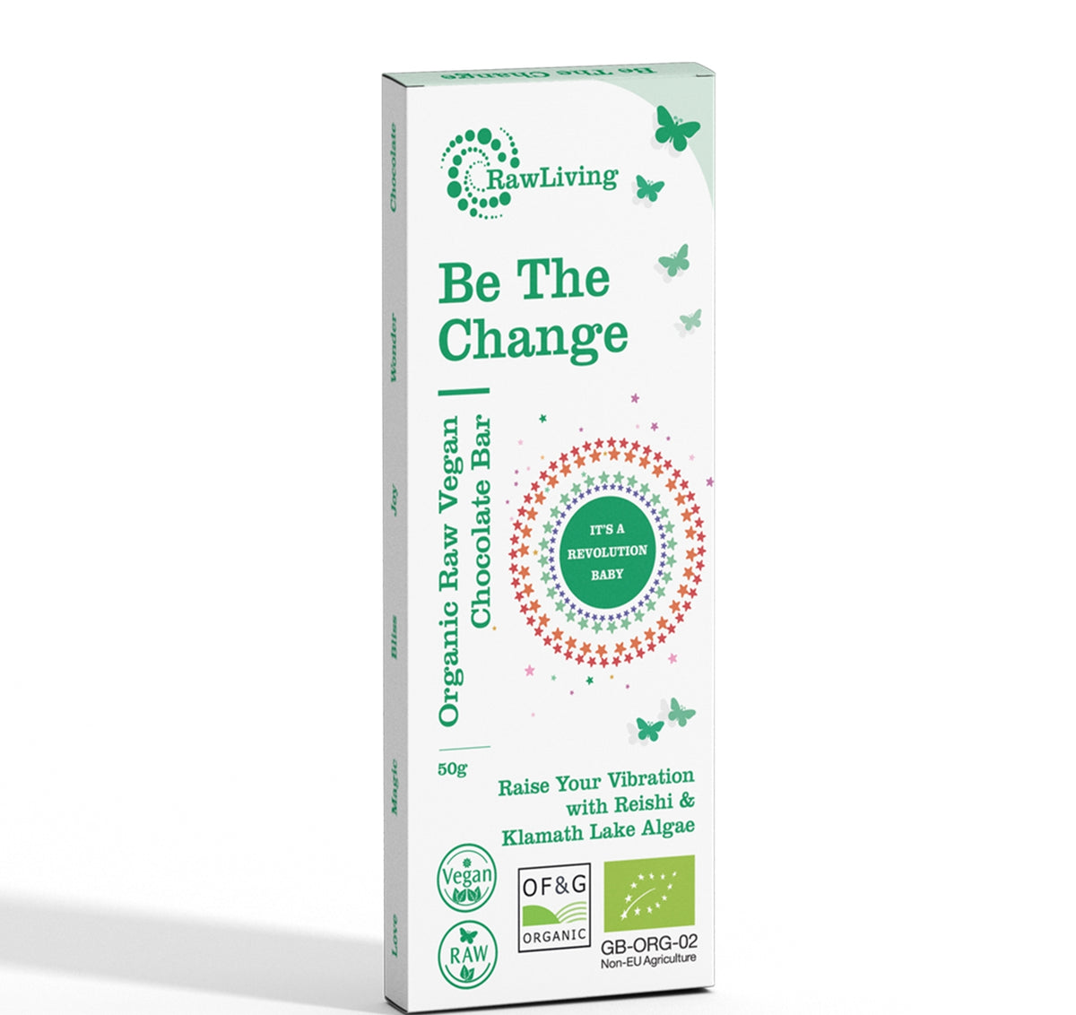 Be the Change Raw Chocolate Bar (50g)