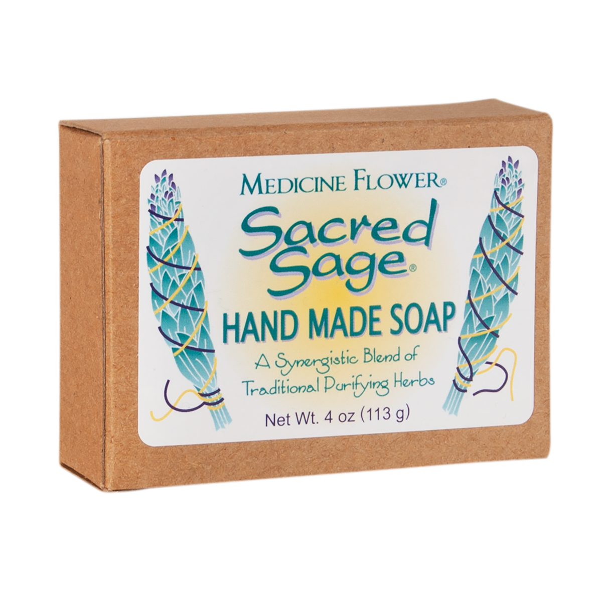 Sacred Sage Body Bar (4oz / 114g) - Medicine Flower