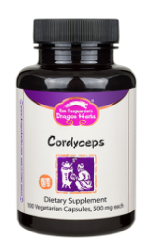 Cordyceps (100 caps) - Dragon Herbs