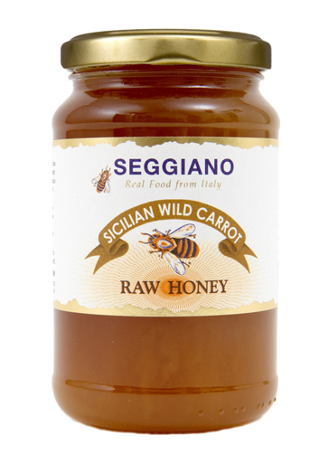 Seggiano Sicilian Wild Carrot Raw Honey (500g)