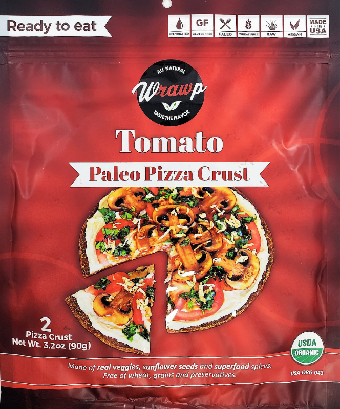 WrawP Pizza Base - Tomato (90g)