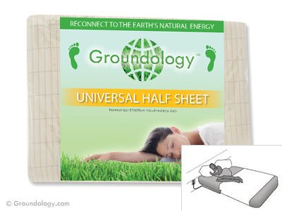 Organic Earthing Half Sheet (No Plug) - Groundology