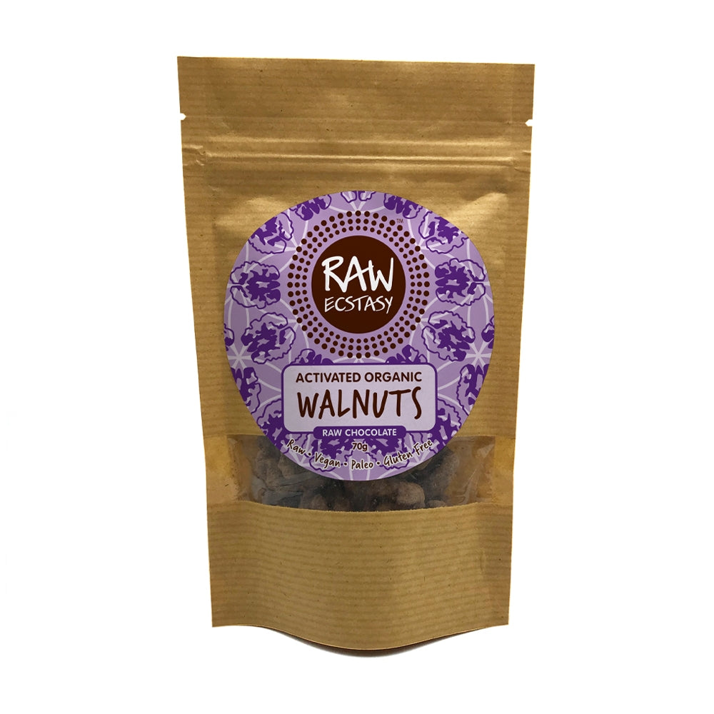 Activated Walnuts Raw Chocolate (70g)