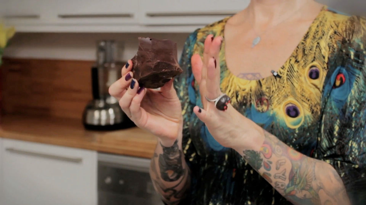 Raw Chocolate Magic (Video)