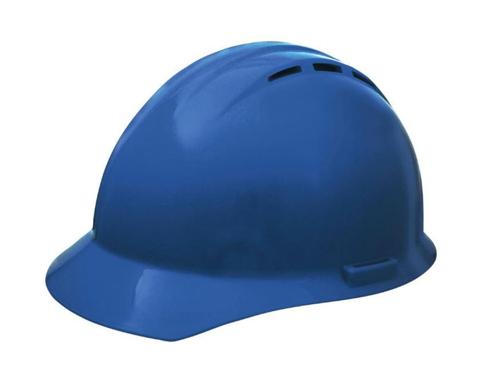 Hard Hat - ERB Americana Pinlock Suspension 4-pt Blue