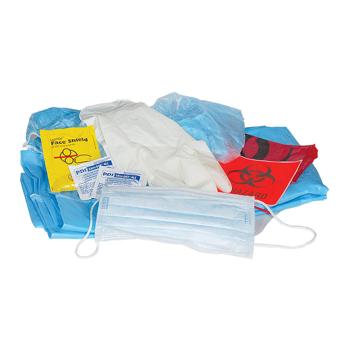 BioHazard - Body Fluid Clean-UP Kit, zip bag #7710