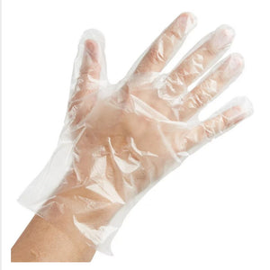 Gloves - Sempermed PolyEthylene Disposable PF - Large 500/bx