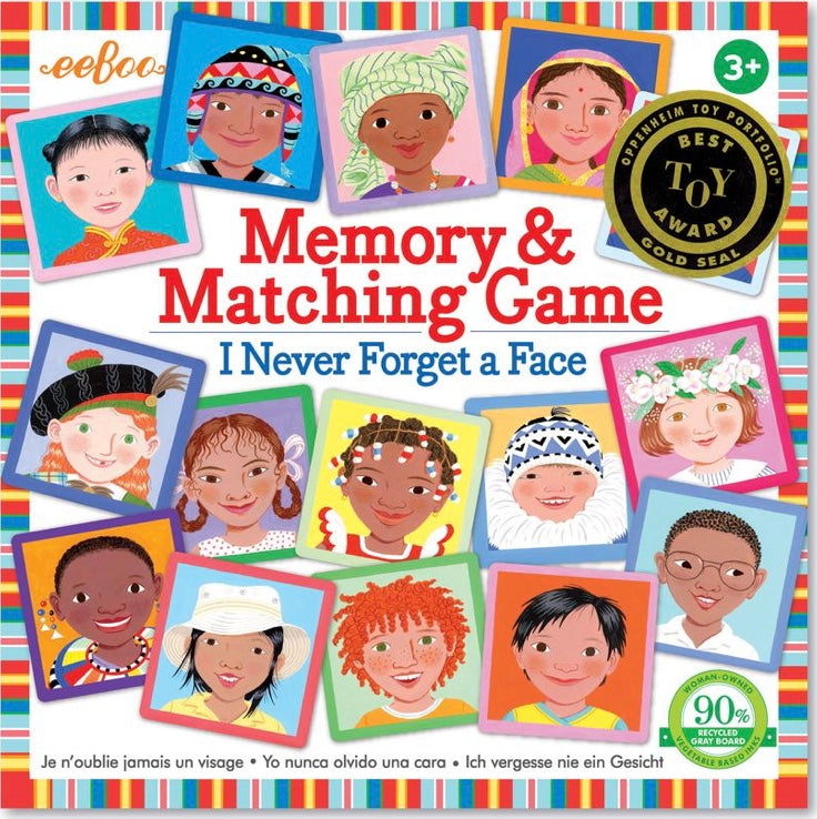 I Never Forget a Face Matching Memory Game