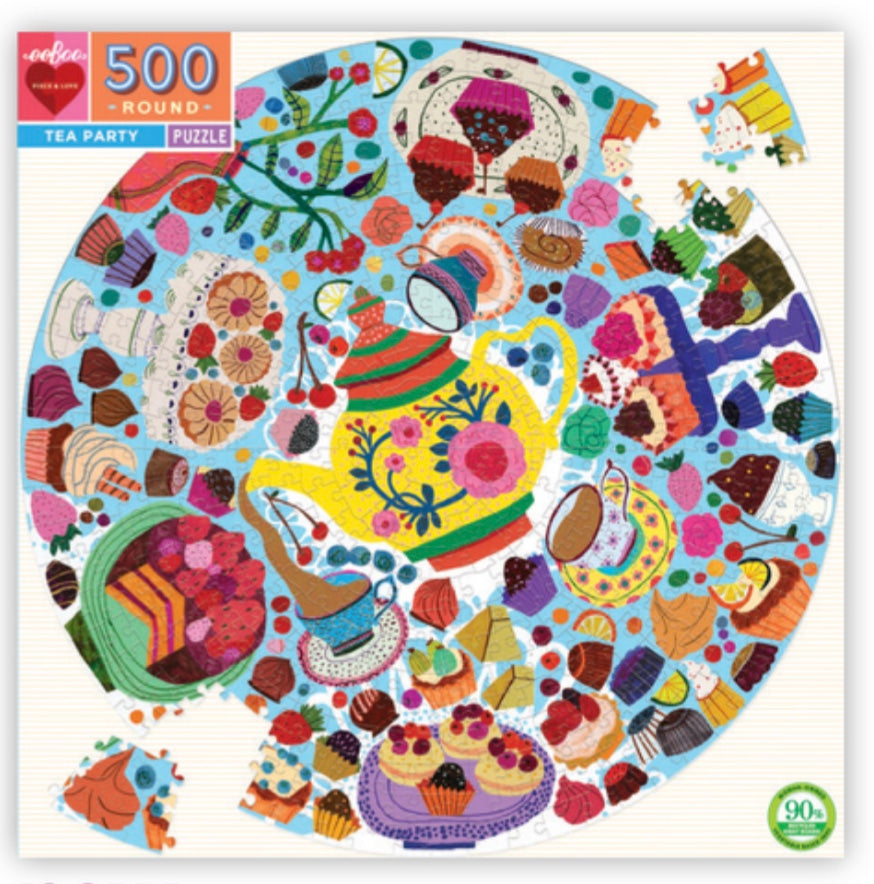 Tea Party Puzzle (500pc)