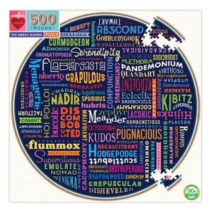 100 Great Words Puzzle (500pc)