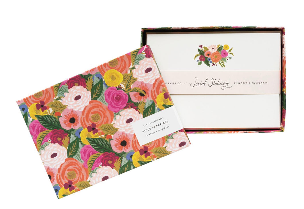 Juliet Rose Stationery Set - Rifle Paper Co.