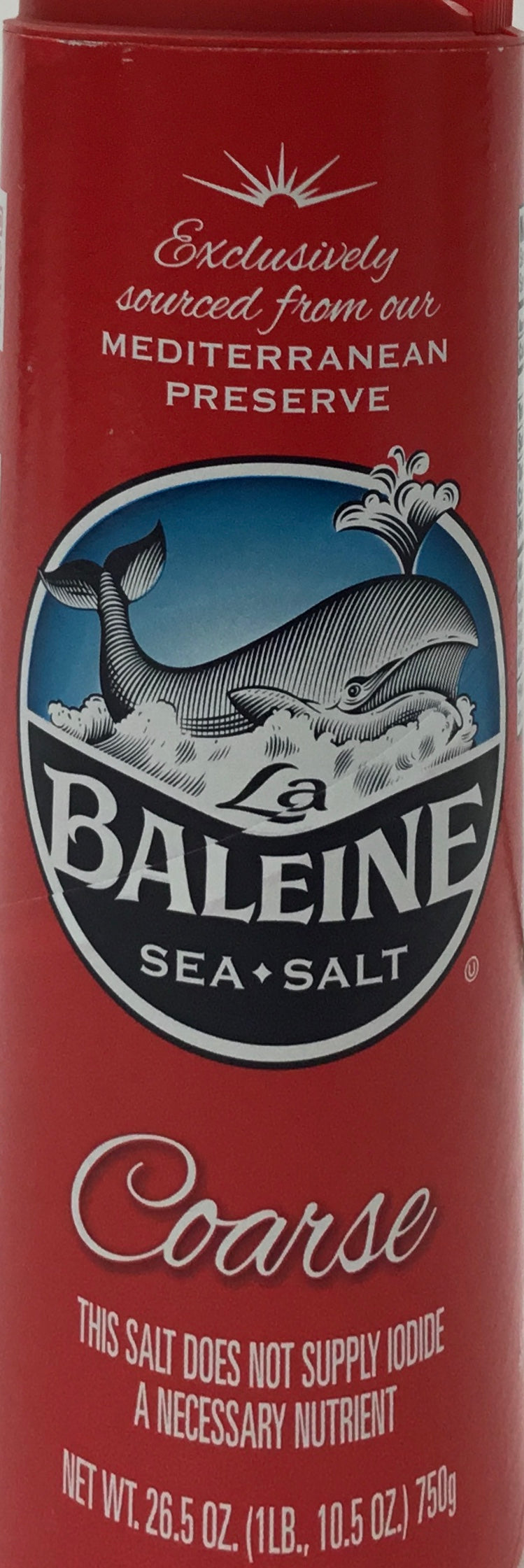 Coarse Sea Salt, La Baleine