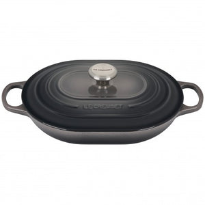 Le Creuset Signature Oval Cast Iron Casserole with Lid