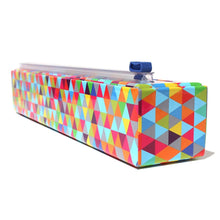 Load image into Gallery viewer, Plastic Wrap Dispenser & Roll, Triangles