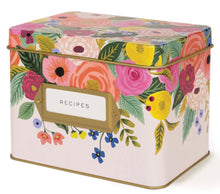 Load image into Gallery viewer, Juliet Rose Recipe Box - Rifle Paper Co.