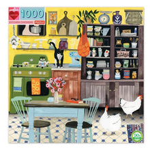 Load image into Gallery viewer, Kitchen Chickens Puzzle (1000pc)