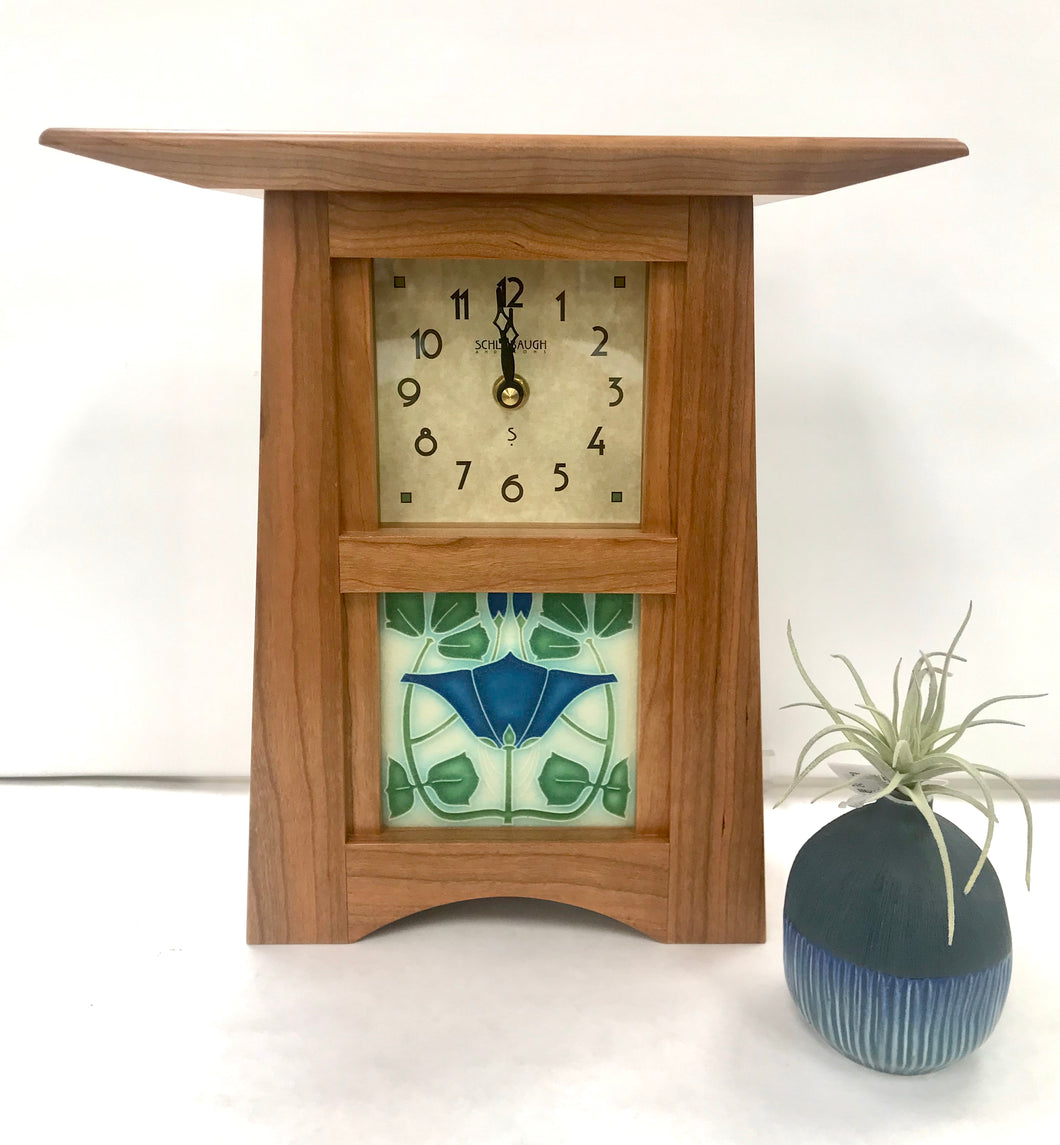 Blue Lizzie Clock - Schlabaugh & Sons