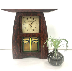Dragonfly Clock - Schlabaugh & Sons
