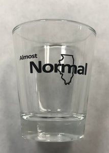 """Almost Normal"" Shot glass"