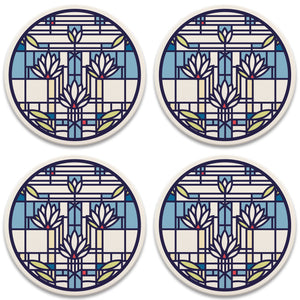 Waterlilies Coaster Set