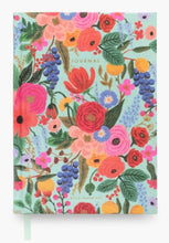 Load image into Gallery viewer, Garden Party Fabric Journal - Rifle Paper Co.