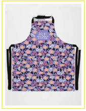Load image into Gallery viewer, Fun Aprons - Blue Q