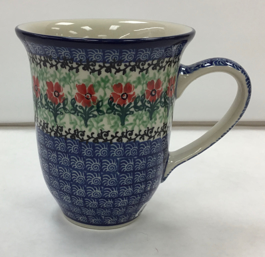 Polish Pottery-Bistro Mug 14 oz