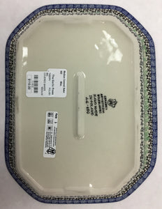 Polish Pottery-Medium Covered Baker